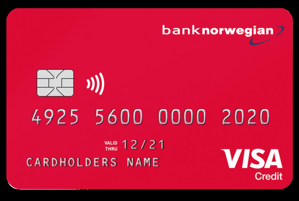Luottokortti näyttää tältä.